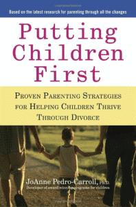 putting children first - parenting book